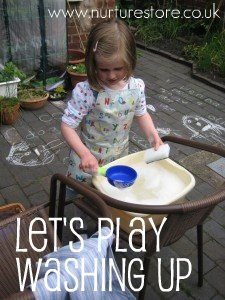 washing up play