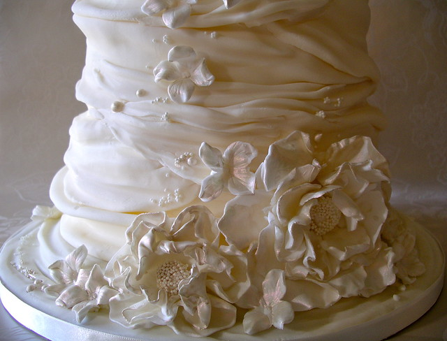 whipped cream wedding cake | Flickr - Photo Sharing!