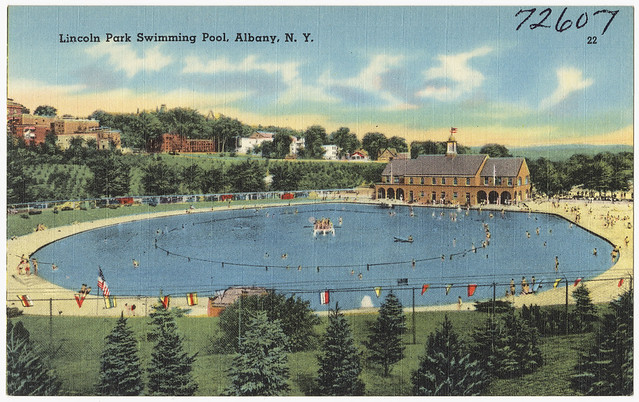lincoln park swimming pool albany n y flickr photo sharing