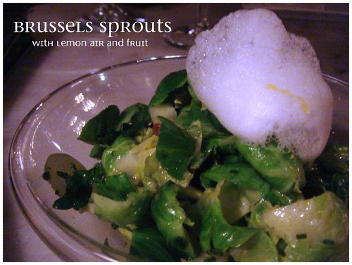 Brussels Sprouts, The Bazaar by José Andrés