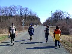 A második vasúti átkelőnél
