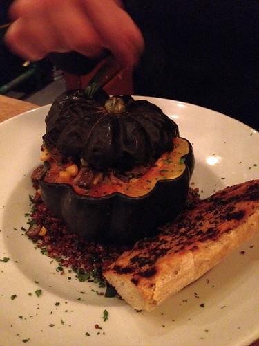Waz's pumpkin dish
