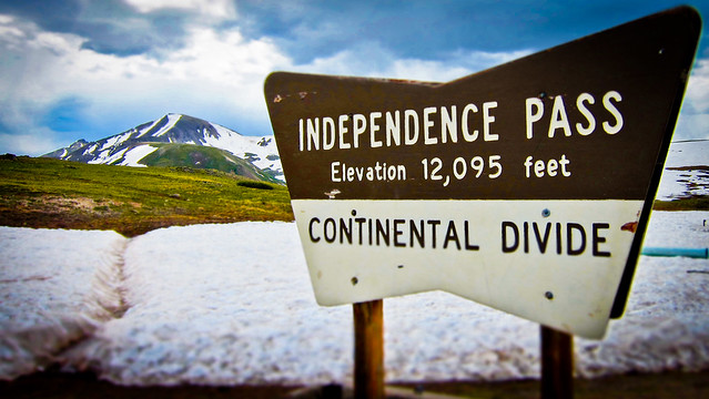 Independence Pass  | Continental Divide - July 2011