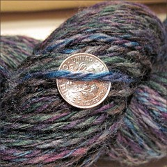 Mountain Meadow yarn, close-up
