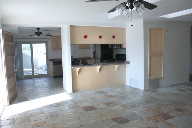 5914456932 04826d464f - Front door opens to kitchen ...