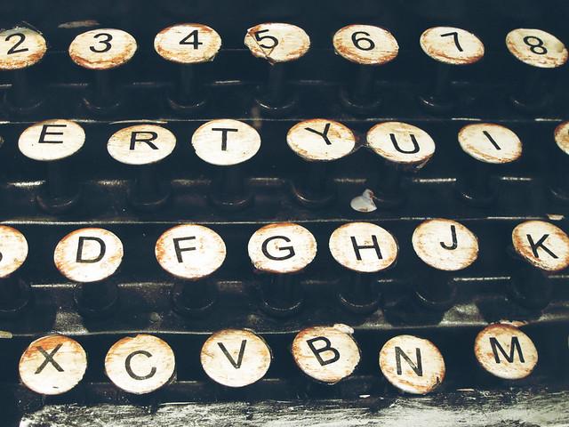 typewriter from Flickr via Wylio
