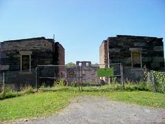 Shaker Barn Ruins