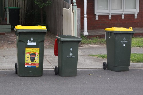 Wheelie bins: big, bigger and biggest