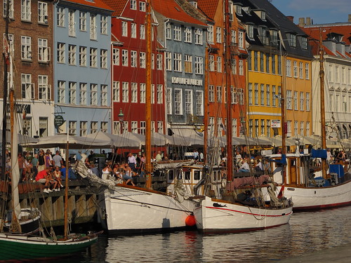 Nyhavn Harbor in Copenhagen
