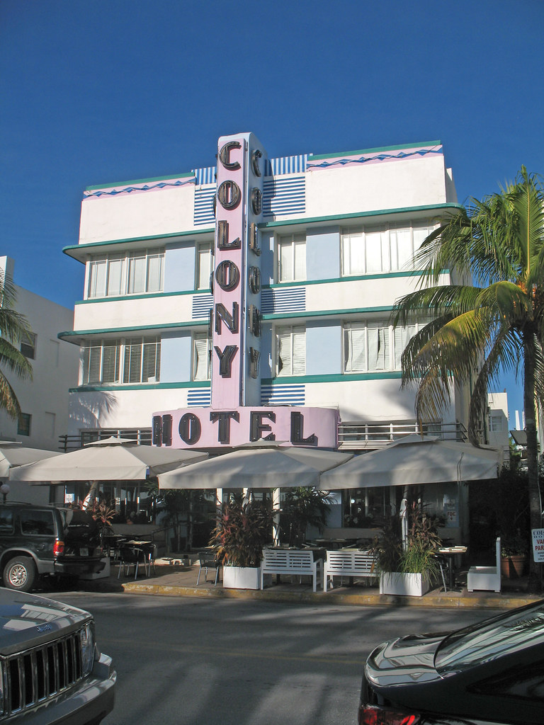 Colony Hotel, 736 Ocean Drive, Miami Beach