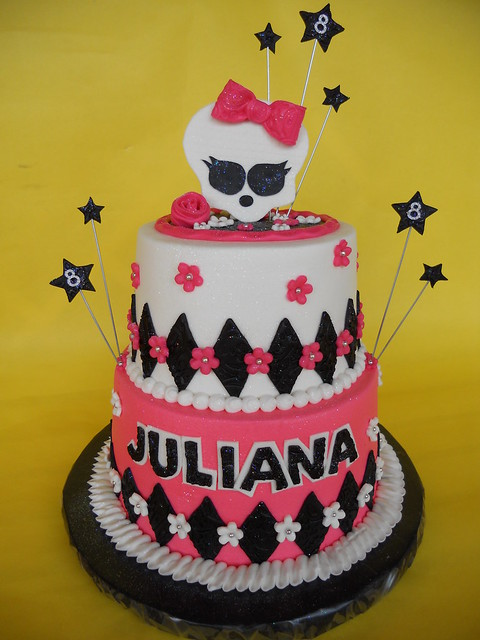 Monster High 8th Birthday Cake Flickr Photo Sharing