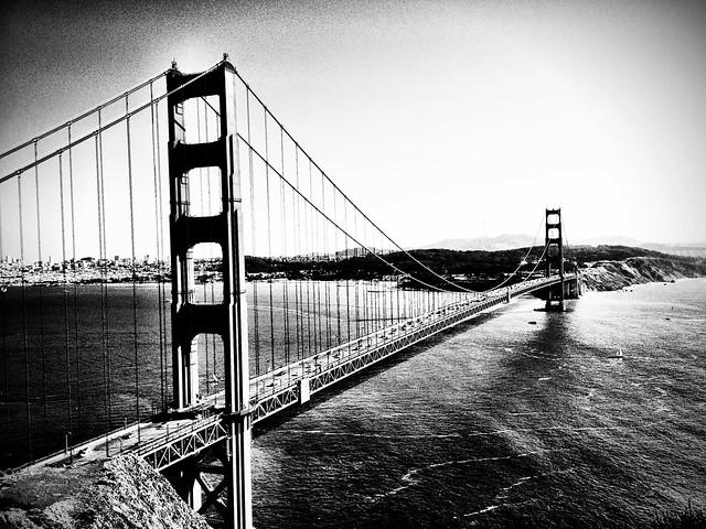 Golden Gate Bridge Black Amp White Flickr Photo Sharing