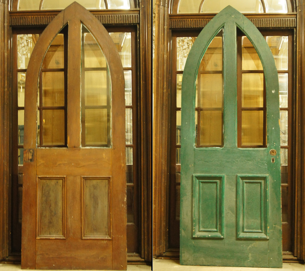 Perfect Arched Door 1803 (Sold · French Doors 1302