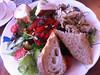 Salad at Cuckoo's Bakery