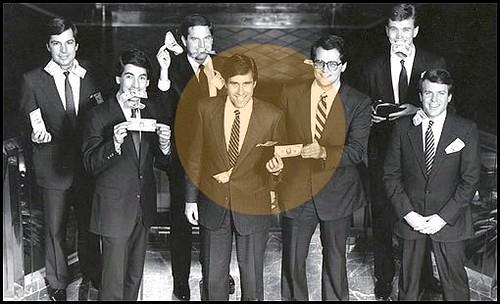 A Happy Mitt Romney, at Bain Capital, Cutting Jobs, Making Money.....