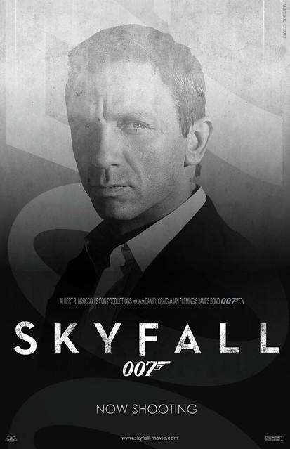 """""""Skyfall"""" Teaser Poster #4"""