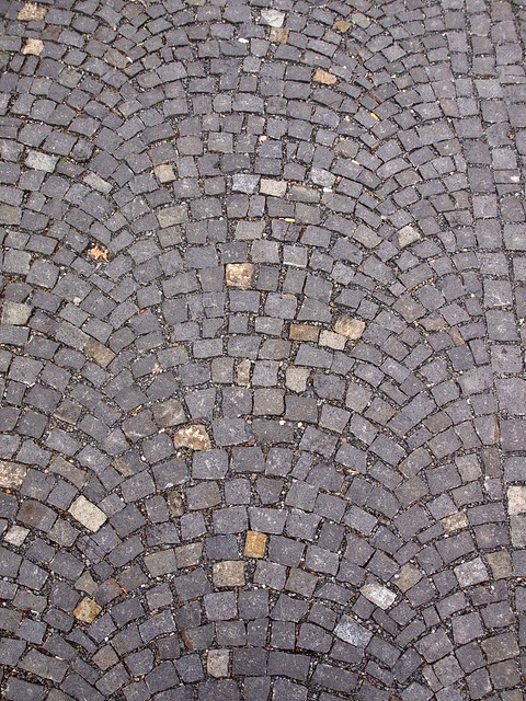 Pin Photo Cobblestone Sidewalk Made Of Cubic Stones