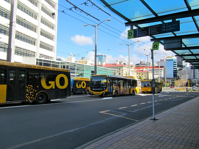 Wellington Buses, New Zealand