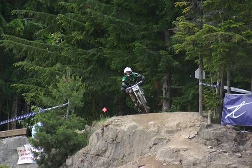 Kris on the GLC Drop in the Garbanzo