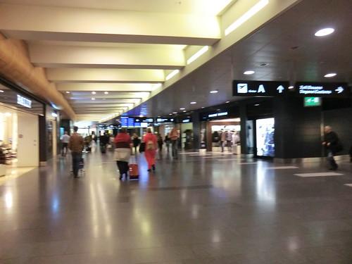 Zurich airport in Switzerland