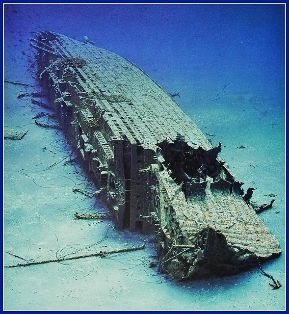 Britannic Wreck Pictures http://www.flickr.com/photos/konabish/6351406813/