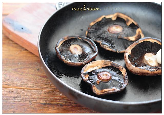 mushroom steaks