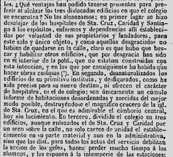 Extracto del Diccionario Geografico Estadístico Histórico de España y sus Posesiones de Ultramar de Pascual Madoz