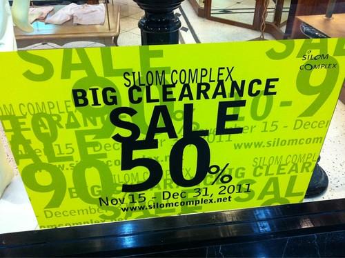 Silom Complex promotion