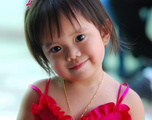 無料写真素材, 人物, 子供  女の子, フィリピン人