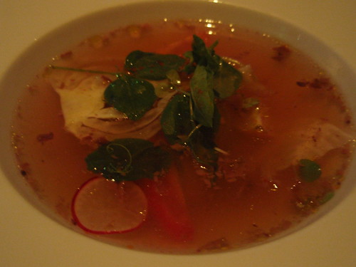 Heirloom Tomato Consomme