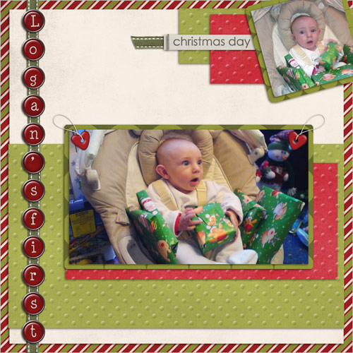 Logan's First Christmas Day by Lukasmummy