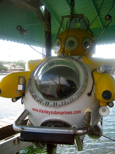 Deep Sea Passenger Submarine - National Geographic Style