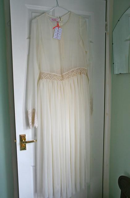 dress vintage lace