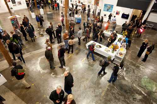 First Thursday @ PNCA, Portland, Oegon