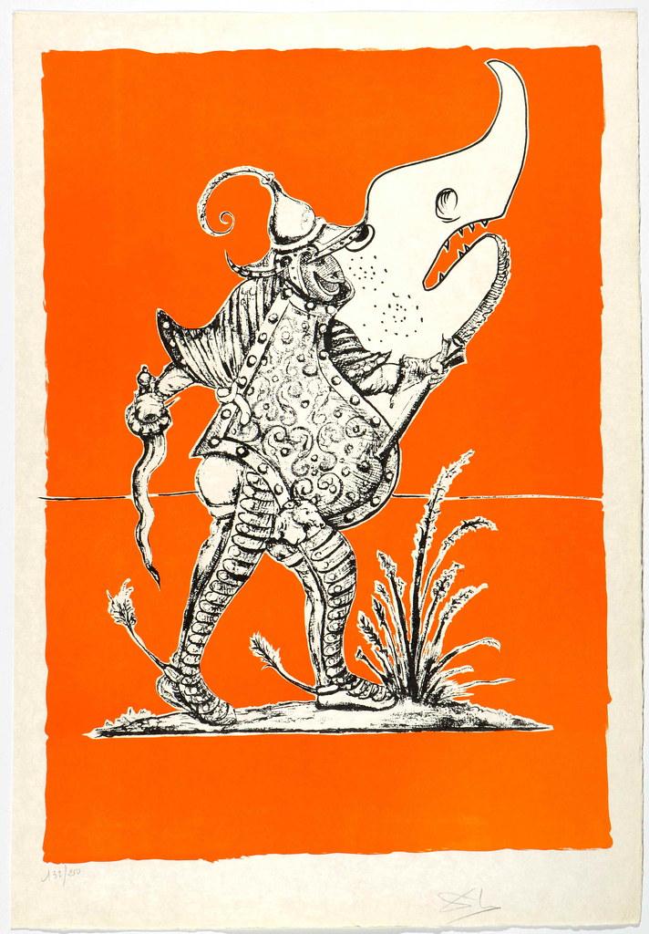 Salvador Dali - Pantagruel 6 (1974)
