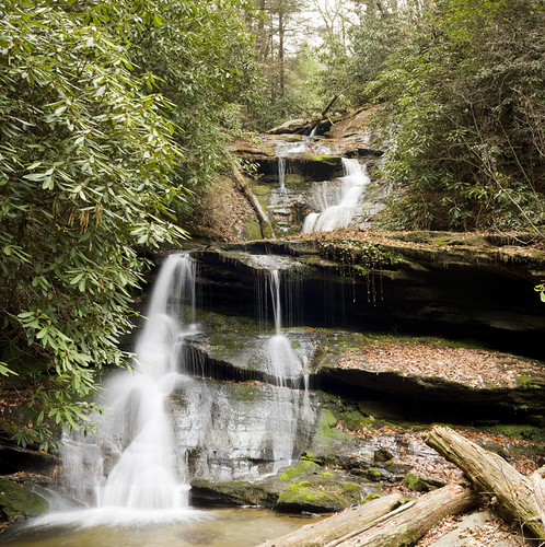 Martins Creek Falls, Rabun County, Georgia