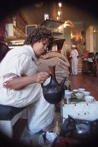 Coffee Ceremony At Sidamo by I Coleman