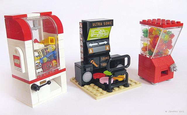 lego claw machine