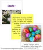 Easter Cards and Booklet (Image from Montessori Print Shop)