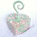 Mosaic Heart Box With Twirly Knob