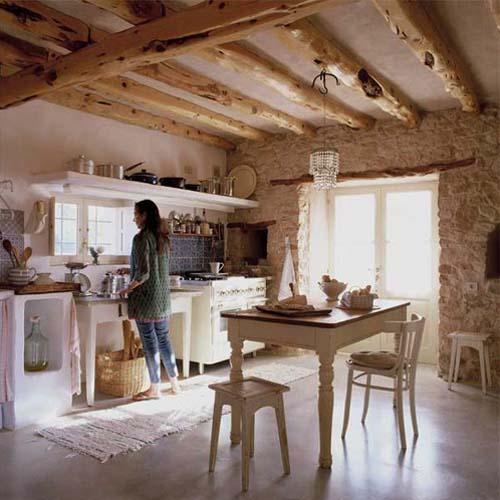 Inspiraci n deco casa de estilo r stico en formentera for Interiorismo rustico