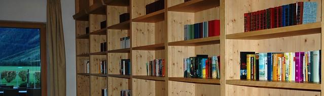 Library, Aquadome, Längenfeld, Ötztal