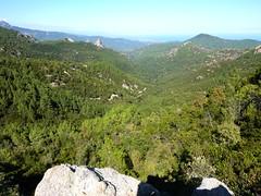 Bocca d'Alzeta Longa : la vallée du Mulinelle