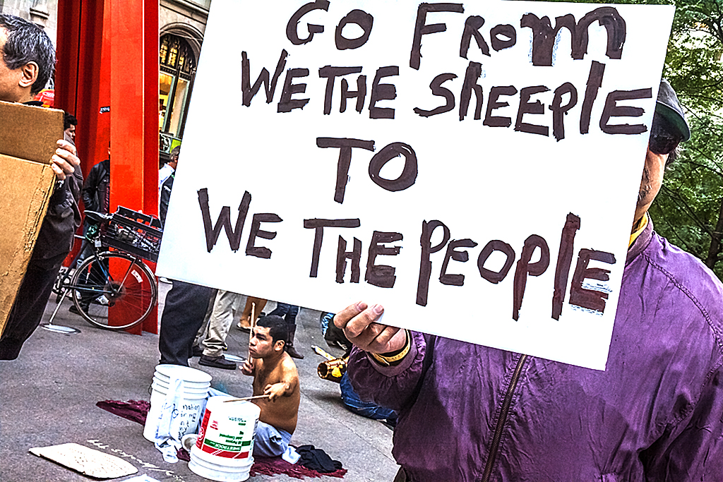 WE-THE-SHEEPLE-TO-WE-THE-PEOPLE--Manhattan