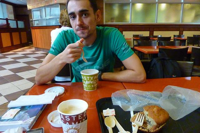 0887 - Breakfasat @ Cafe Europa