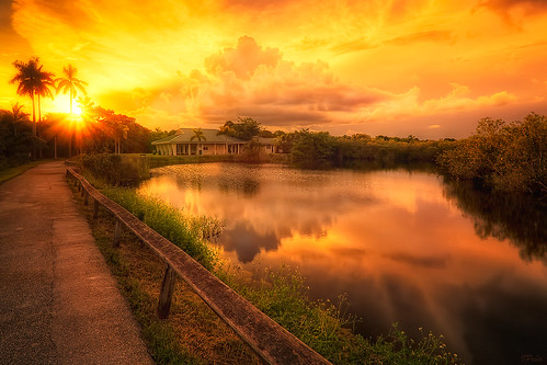 florida parks everglades hdr