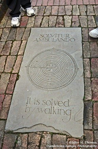 It is solved by walking