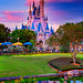 Magic Hour Magic Kingdom