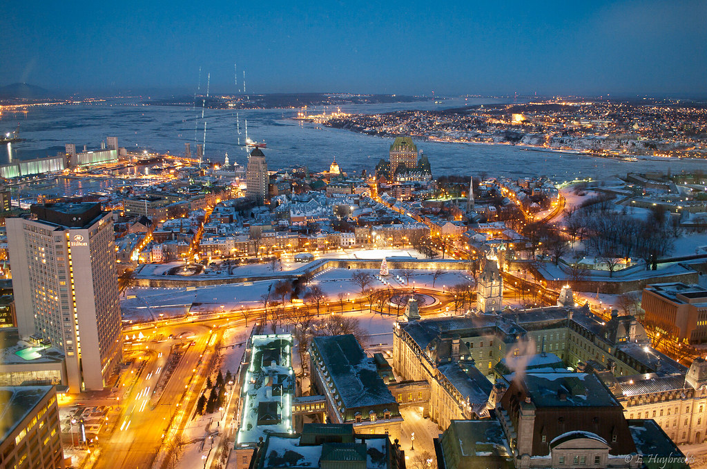 Quebec City à Noël