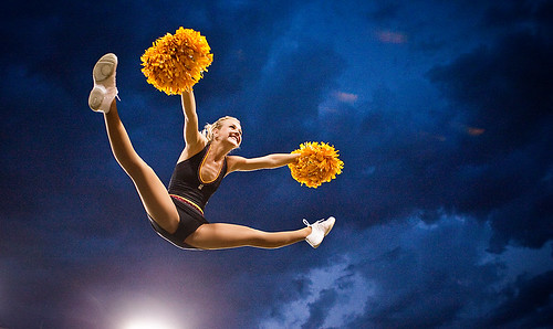 Cheerleader by arizonarepublic